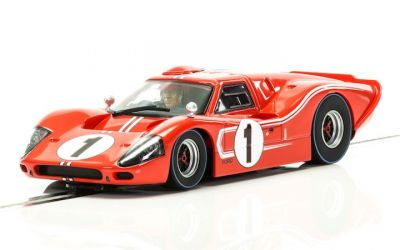 Scalextric C3892A Ford GT Mk IV #1 driven by Dan Gurney and A. J. Foyt