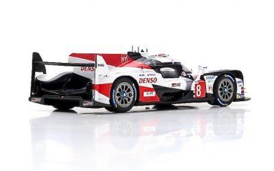Spark Model 43LM18 Toyota TS050 Hybrid #8 'Fernando Alonso - Kazuki Nakajima - Sébastien Buemi' winner Le Mans 2018
