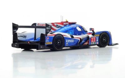Spark Model US038 Ligier JS P217 - Gibson #23 'Fernando Alonso - Lando Norris - Phil Hanson' 38th pl 24 hrs of Daytona 2018