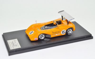 "Marsh Models LE35 McLaren M8B  #15 ""Jack Brabham"" practice Can-Am Michigan 1969"