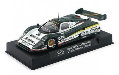 Slot.It SICA13d Jaguar XJR12 Suntec #36 'David Leslie - Mauro Martini - Jeff Krosnoff' DNF Le Mans 1991