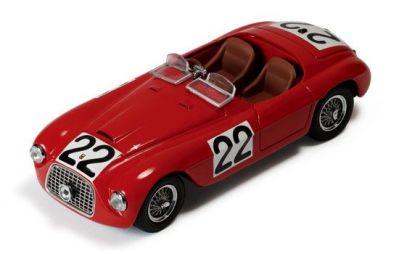 IXO Models LM1949 Ferrari 166MM Barchetta #22 'Luigi Chinetti - Lord Selsdon' winner Le Mans 1949
