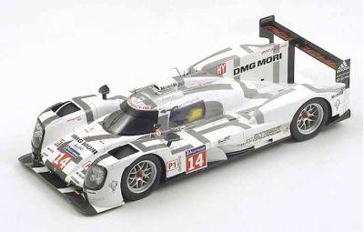 """Spark Model 18S145 Porsche 919 Hybrid #14 Porsche Team """"Romain Dumas - Neel Jani - Marc Lieb"""" 11th pl Le Mans 2014"""
