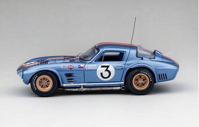 TSM Models TSM164348 Chevrolet Corvette Grand Sport #3 'Delmo Johnson - Dave Morgan' 32nd pl Sebring 1964