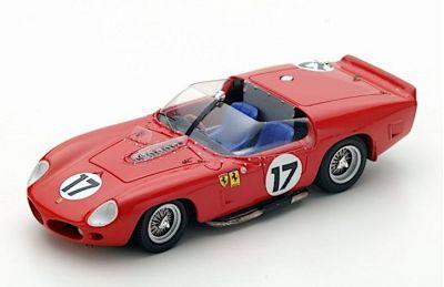 LookSmart Models LSLM046 Ferrari TRI/61 #17 North American Racing Team 'Pedro & Ricardo Rodríguez' Le Mans 1961