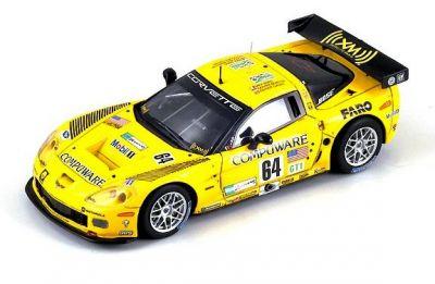 Spark Model S0179 Chevrolet Corvette C6-R #64 'Olivier Baretta - Oliver Gavin - Max Papis' Le Mans 2007
