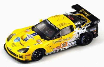 Spark Model S2580 Chevrolet Corvette C6 ZR1 Corvette Racing #64 'Oliver Gavin - Olivier Beretta - Emmanuel Collard' DNF Le Mans 2010