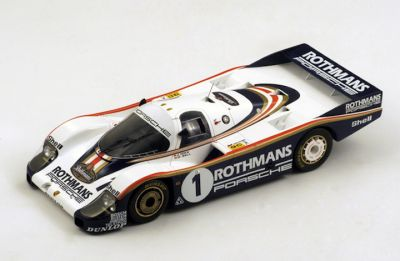 "Spark Model 18LM82 Porsche 956 Rothmans #1 ""Derek Bell - Jacky Ickx"" winner Le Mans 1982"