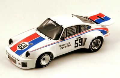 Spark Model 18DA75 Porsche Carrera RSR #59 Brumos 'Peter Gregg - Hurley Haywood' winner 24 hrs of Daytona 1975