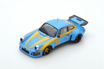 Spark Model 43SE77 Porsche911 Carrera RSR #30 'George Dyer - Brad Frisselle' 1st pl 12 hrs of Sebring 1977