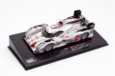 IXO Models LM2013 Audi R18 e-tron quattro #2 Audi Sport Team Joest 'Tom Kristensen – Loic Duval – Allan McNish' Winner Le Mans 2013