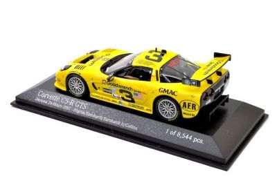 Action - Minichamps AC4011403 Chevrolet Corvette C5-R #3 'Andy Pilgrim - Dale Ernhardt - Dale Ernhardt Jr - Kelly Collins' 4th pl 24 hrs of Daytona 2001