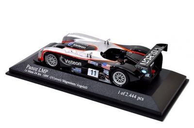 Action - Minichamps AC4998811 Panoz LMP-1 Spyder #11 'Max Angelelli - Johnny O'Connell - Jan Magnussen' 11th pl Le Mans 1999