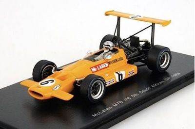 "Spark Model S3125 McLaren M7B #6 ""Bruce McLaren"" 5th pl South African GP 1969"