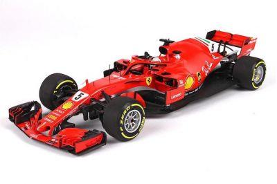BBR Models BBR181805DIE Ferrari SF71-H #5 'Sebastian Vettel' winner Australia 2018
