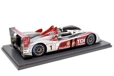 Le Mans Miniatures / Spark Model LMS009 Audi R10 TDI #1 'Frank Biella - Emanuele Pirro - Marco Werner' winner Le Mans 2007
