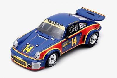 Spark Model 18SE76 Porsche 911 Carrera RSR #14 'Al Holbert - Michael Keyser' winner 12 hrs of Sebring 1976