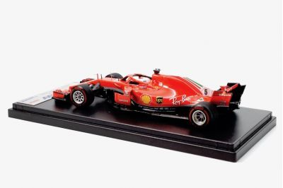 LookSmart Models LSF1015 Ferrari SF71H #5 'Sebastian Vettel' winner Canadian Grand Prix 2018 (Vettel's 50th Victory)