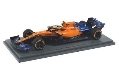 Spark Model S6069 McLaren MCL34 #4 'Lando Norris' Australian Grand Prix 2019