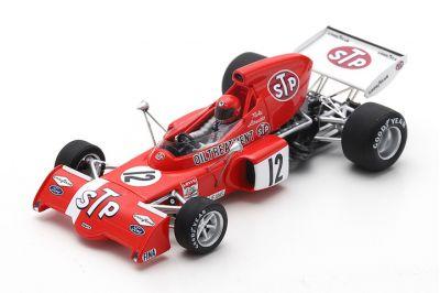 Spark Model S7165 March 721X #12 'Niki Lauda' Grand Prix of Belgium 1972