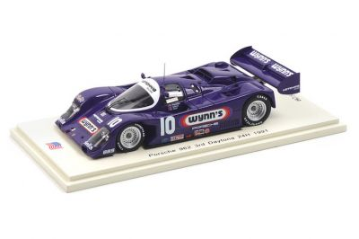 Spark Model US042 Porsche 962 #10 'Chris Cord - John Hotchkis - Jim Adams - Rob Dyson' 3rd pl 24 hrs of Daytona 1991