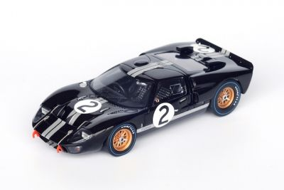 Spark Model 43LM66 Ford GT40 MkII #2 'Chris Amon - Bruce McLaren' winner Le Mans 1966