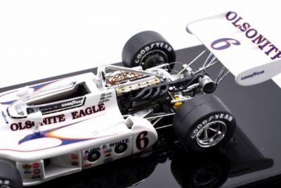 Replicarz R43020 Olsonite Eagle #6 'Bobby Unser' DNF Indy 500 1972
