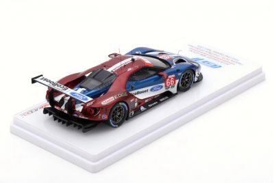 TSM-Models TSM430405 Ford GT GTLM #66 Ford Chip Ganassi Team USA 'Sébastien Bourdais - Joey Hand - Dirk Müller' 2nd Place GTLM Class 24 hrs of Daytona 2018