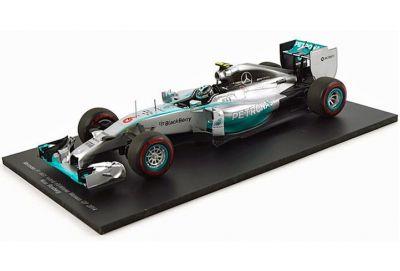 "Spark Model 18S141 Mercedes F1 W05 #6 ""Nico Rosberg"" Winner Grand Prix of Monaco 2014"