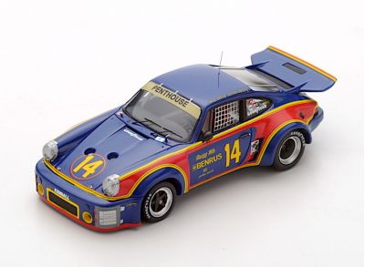 Spark Model 43SE76 Porsche 911 Carrera RSR #14 'Al Holbert - Michael Keyser' winner 12 hrs of Sebring 1976