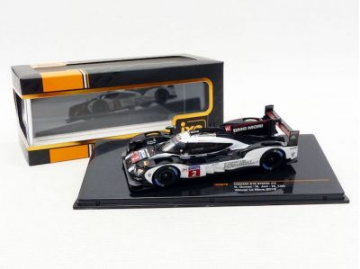 IXO Models LM2016 Porsche 919 Hybrid #2 'Romain Dumas - Neel Jani - Marc Lieb' LMP1 HY Winner Le Mans 2016