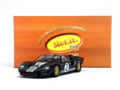 Slot.It SICW10 Ford MkII #2 'Chris Amon - Bruce McLaren' winner Le Mans 1966