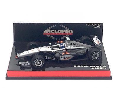 Minichamps 530994301 McLaren Mercedes MP4/14 #1 'Mika Hakkinen' 1999 F1 World Champion
