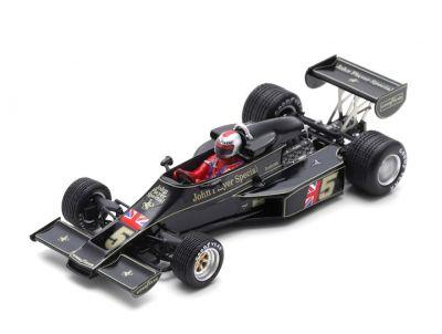 Spark Model S7133 Lotus 77 John Player Special #5 'Mario Andretti' Winner Japanese Grand Prix 1976