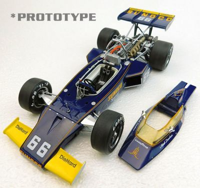 Replicarz R184827 McLaren M16B #66 'Mark Donohue' winner Indy 500 1972