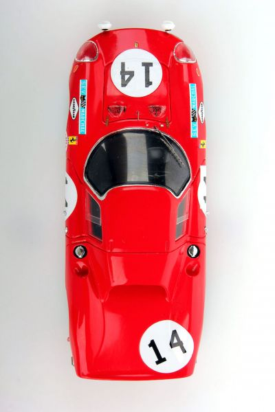 LookSmart Models LSLM041 Ferrari 250LM #14 N.A.R.T. 'Masten Gregory - Charlie Kolb' Le Mans 1968
