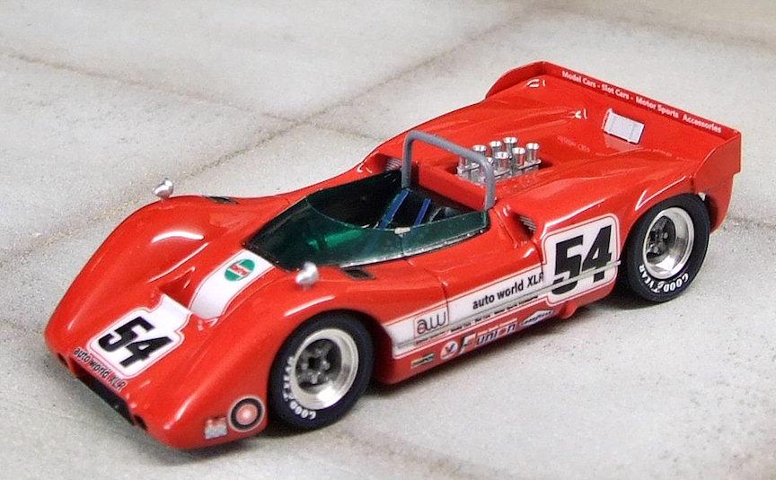 MM76 1//43 Marsh Models McLaren M6A calcomanías Original