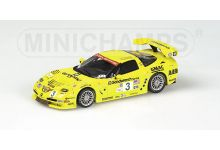 "Action - Minichamps AC4021403 Chevrolet Corvette C5-R #3 ""Oliver Gavin - Johnny O'Connell - Ron Fellows"" 1st pl. GTS cl. 9th pl. oa 12 hrs of Sebring 2002"