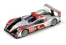 "Spark Model S0680 Audi R10 TDI #2 ""Frank Biela - Emanuele Pirro - Marco Werner"" winner 12 hrs of Sebring 2007"