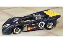 """Marsh Models MM258B8 McLaren M8D A.G. Dean #8 """"Chuck Parsons"""" 4th pl  Can-Am Mont-Tremblant 1971"""