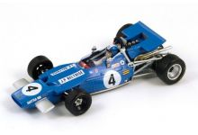 "Spark Model S1608 Matra MS84 #4 ""Jean-Pierre Beltoise"" British GP 1969"