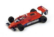 """Spark Model S4346 Brabham BT49 #5 """"Niki Lauda"""" Practice Canadian GP 1979"""