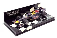 Minichamps 410100005 Red Bull Racing Renault RB6 'Sebastian Vettel' F1 World Champion 2010