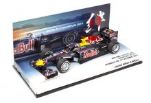 "Minichamps 413110301 Red Bull Racing RB7 #1 ""Sebastian Vettel"" 3rd pl Japanese Grand Prix & F1 World Champion 2011"