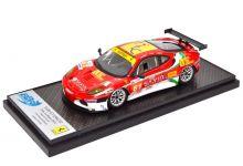 BBR Models BBRC66 Ferrari 430 GT2 #61 Team AF Corsa 'Pierguiseppe Perazzini - Mario Cioci - Sean Paul Breslin' Le Mans 2011