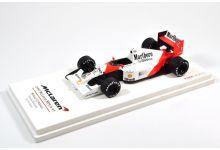 TrueScale Miniatures TSM134324 McLaren MP4/6 #1 'Ayrton Senna' 1st pl Grand Prix of Monaco & F1 World Champion 1991