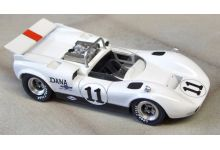 Marsh Models MM283B11 McLaren M1C #11 Dana Chevrolet Racing 'Lothar Motchenbacher' USRRC Mid Ohio 1967