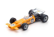 Spark Model S4844 McLaren M14A #17 'Dan Gurney' 6th pl French Grand Prix 1970