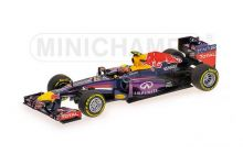Minichamps 410130002 Infiniti Red Bull Racing RB9 #2 'Mark Webber' F1 2013