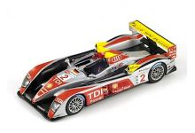 Spark Model 43LM08 Audi R10 Tdi #2 'Rinaldo Capello - Tom Kristensen - Allan McNish' winner Le Mans 2008